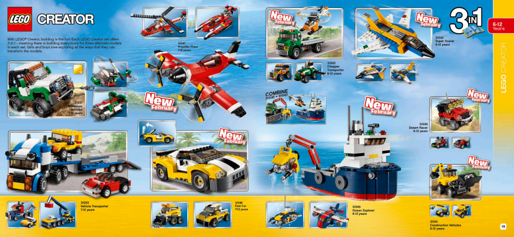 LEGO Australia Catalogue January to May 2016 - Creator 1