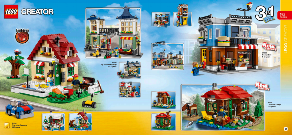LEGO Australia Catalogue January to May 2016 - Creator 2