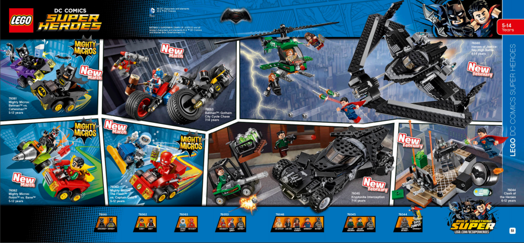 LEGO Australia Catalogue January to May 2016 - DC Super Heroes