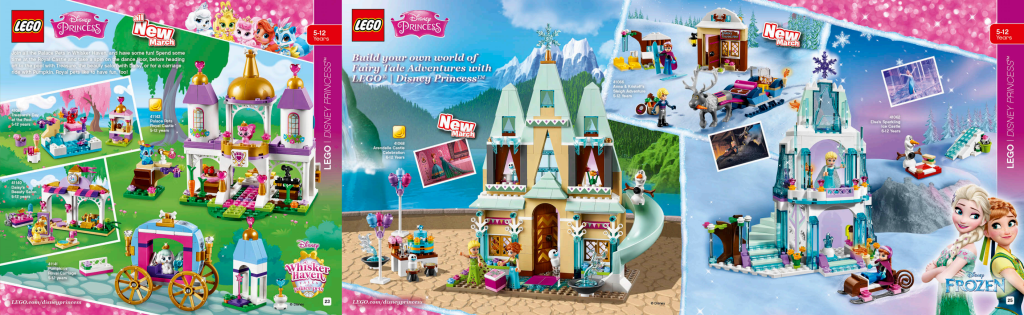 LEGO Australia Catalogue January to May 2016 - Disney Princess Palace Pets