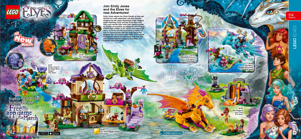 LEGO Australia Catalogue January to May 2016 - Elves