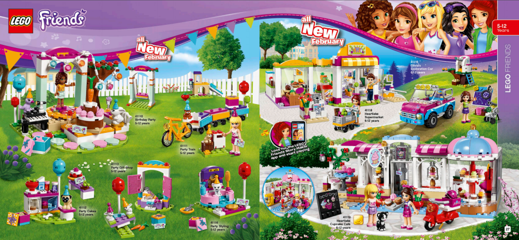 LEGO Australia Catalogue January to May 2016 - Friends