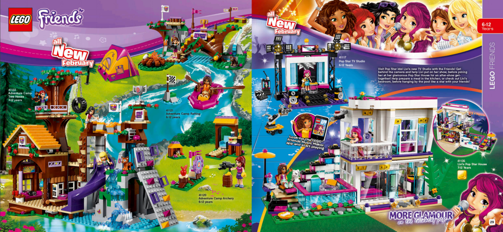 LEGO Australia Catalogue January to May 2016 - Friends 2