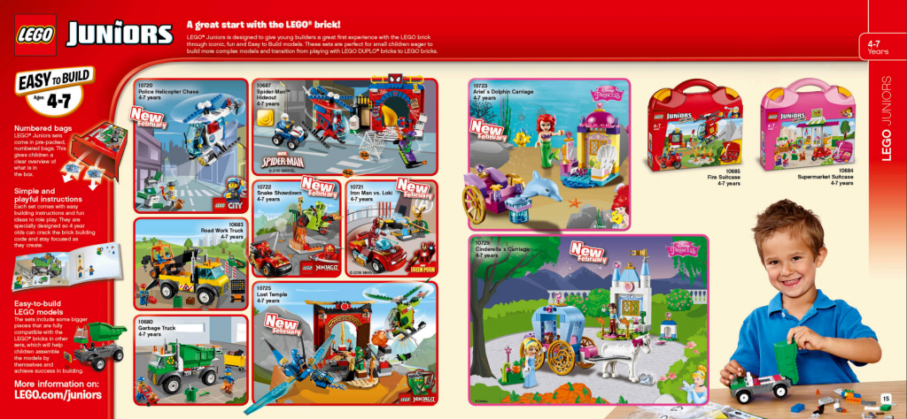 LEGO Australia Catalogue January to May 2016 - Juniors