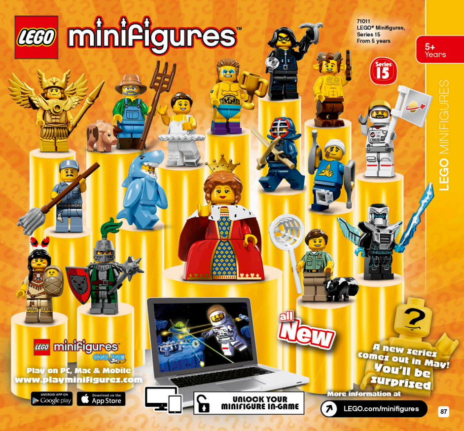 LEGO Australia Catalogue January to May 2016 - LEGO Minifigures Series 15