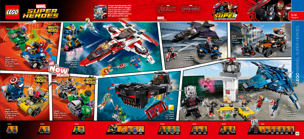LEGO Australia Catalogue January to May 2016 - Marvel Super Heroes