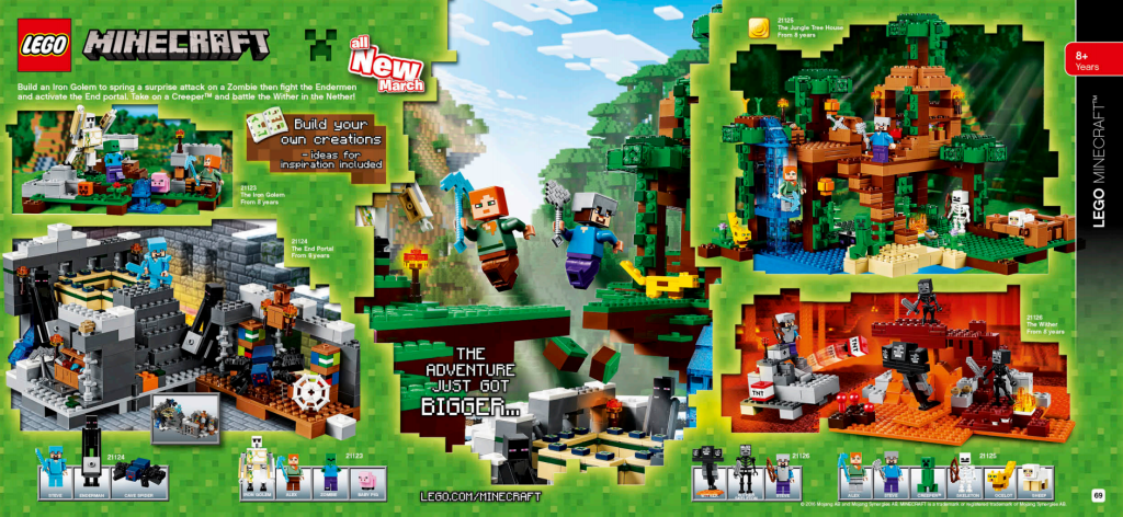 LEGO Australia Catalogue January to May 2016 - Minecraft