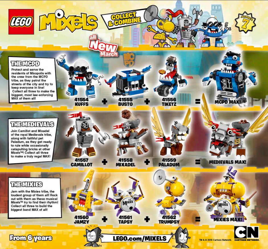 LEGO Australia Catalogue January to May 2016 - Mixels Series 7
