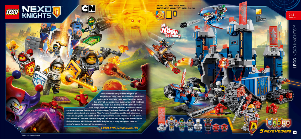 LEGO Australia Catalogue January to May 2016 - Nexo Knights 1