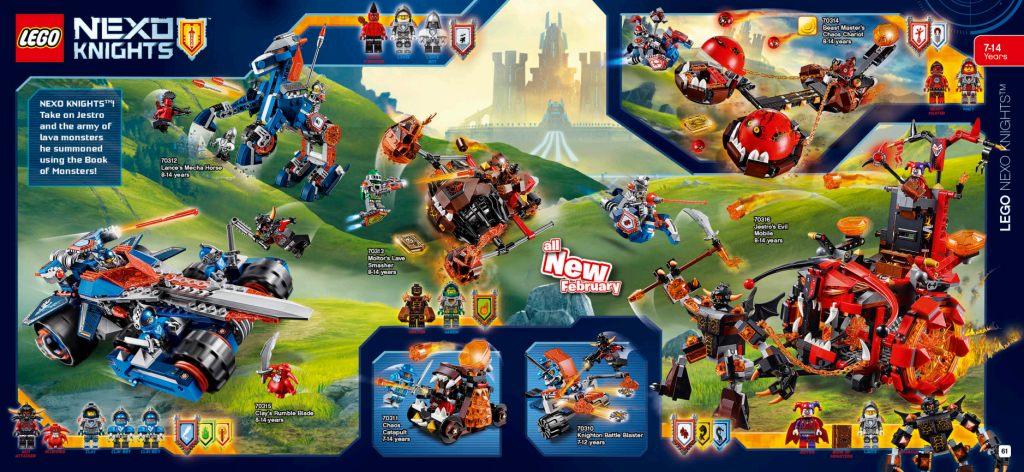 LEGO Australia Catalogue January to May 2016 - Nexo Knights 2