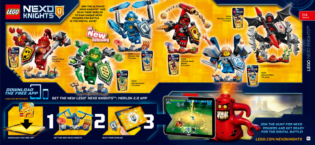 LEGO Australia Catalogue January to May 2016 - Nexo Knights 3