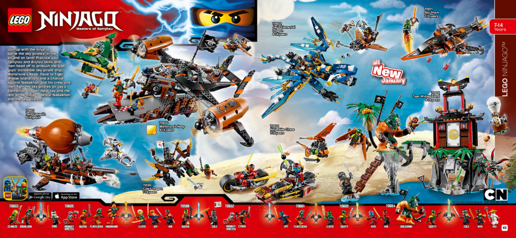 LEGO Australia Catalogue January to May 2016 - Ninjago Sky Pirates