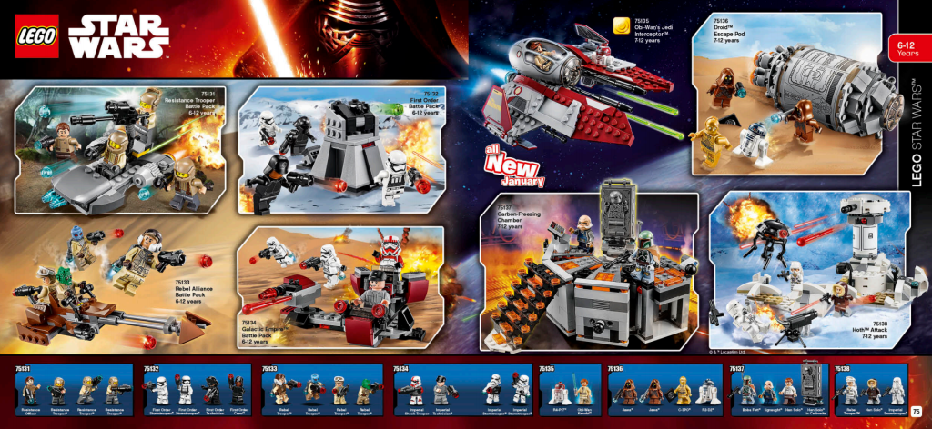 LEGO Australia Catalogue January to May 2016 - Star Wars