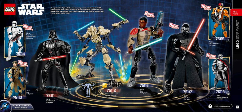 LEGO Australia Catalogue January to May 2016 - Star Wars Buildable Figures