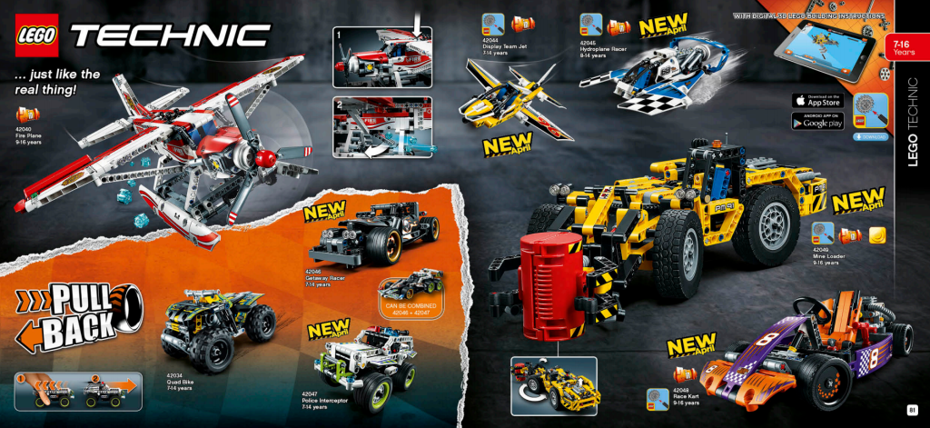 LEGO Australia Catalogue January to May 2016 - Technic 1