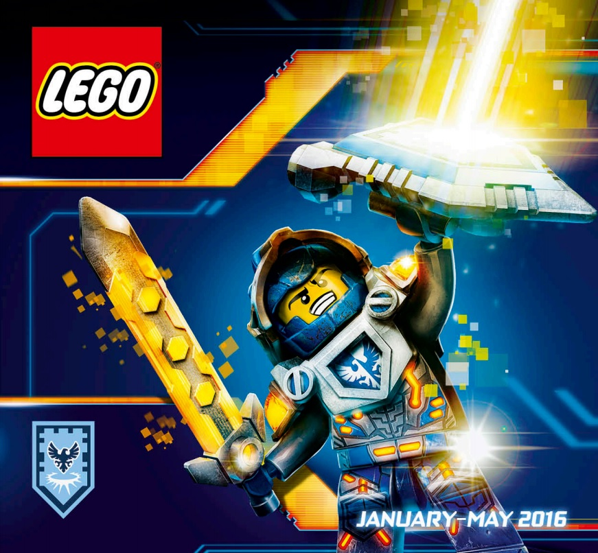 LEGO Australia Catalogue January to May 2016