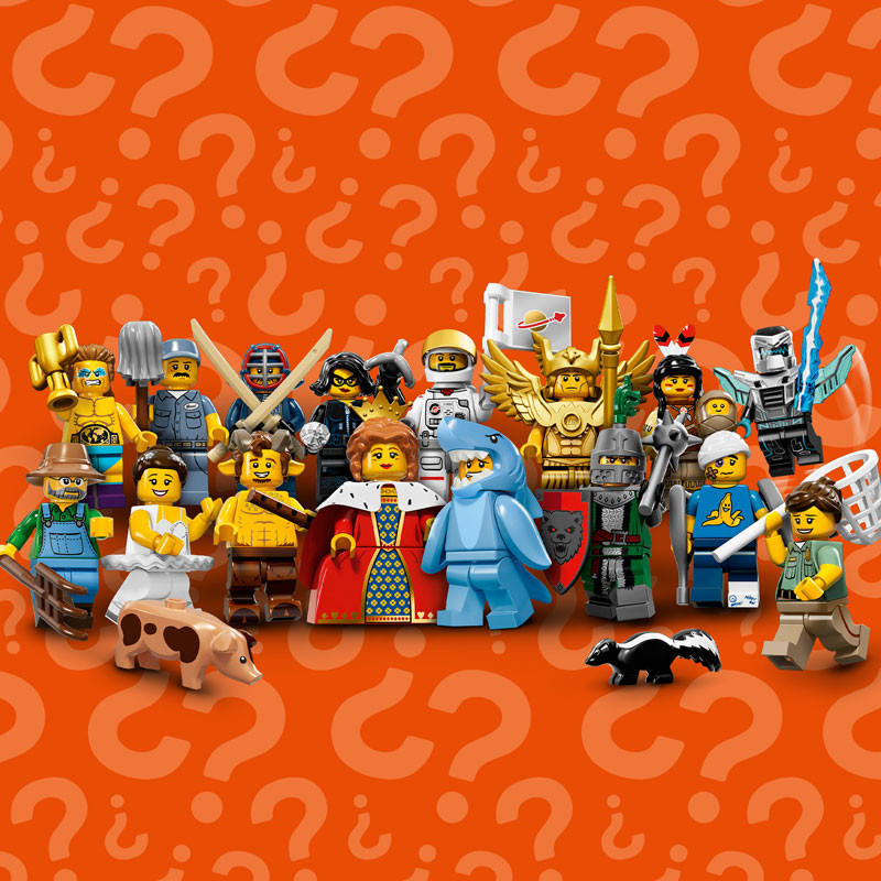 Special Offer: $10 off Full Sets of Series 15 Minifigures ...