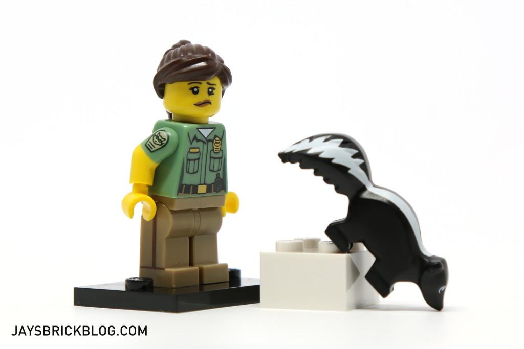 LEGO Minifigures Series 15 - Animal Control Alternate Face