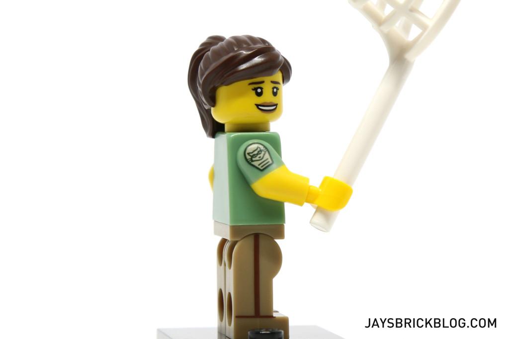 LEGO Minifigures Series 15 - Animal Control Arm Printing