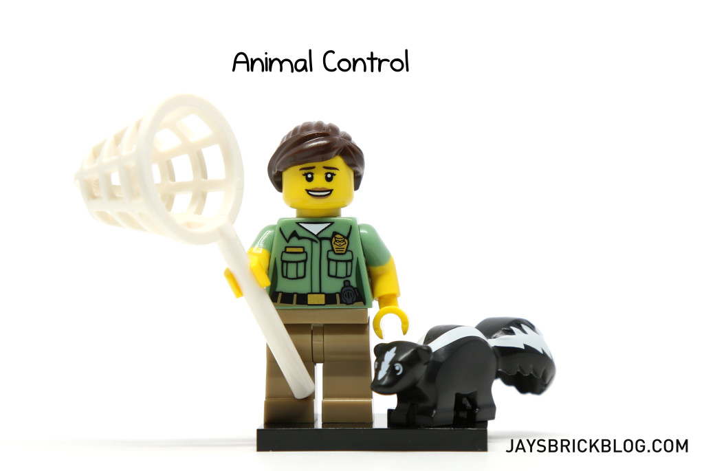 LEGO Minifigures Series 15 - Animal Control Minifig