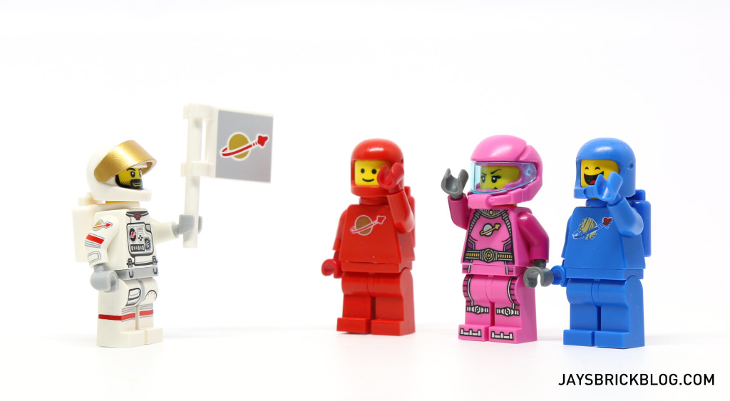 LEGO Minifigures Series 15 -Astronaut and Classic Space