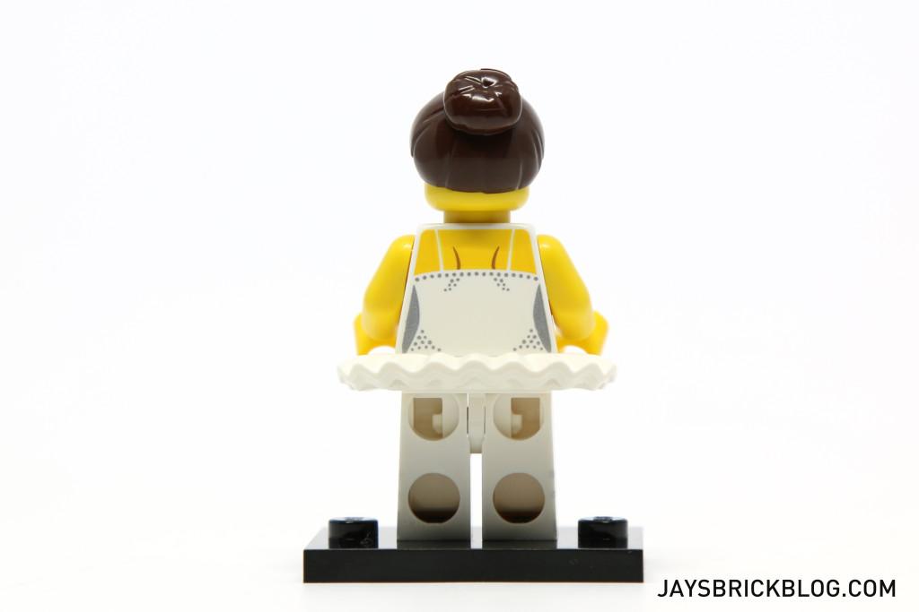 LEGO Minifigures Series 15 - Ballerina Back Printing