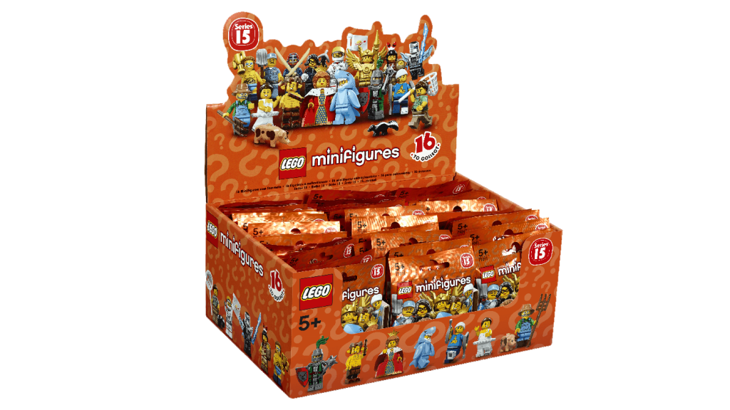 LEGO Minifigures Series 15 Box