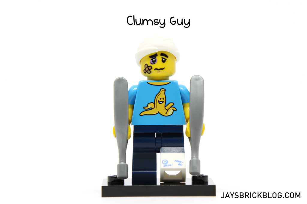 LEGO Minifigures Series 15 - Clumsy Guy Minifig