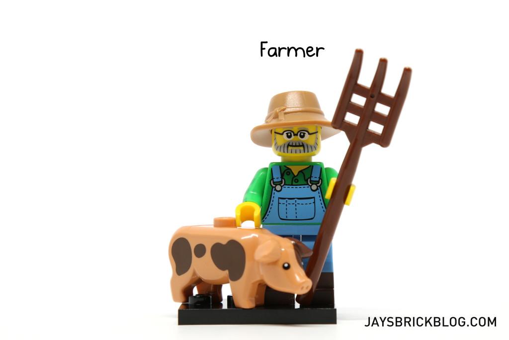 LEGO Minifigures Series 15 - Farmer Minifig