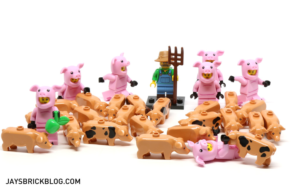 LEGO Minifigures Series 15 - Farmer and His Pis