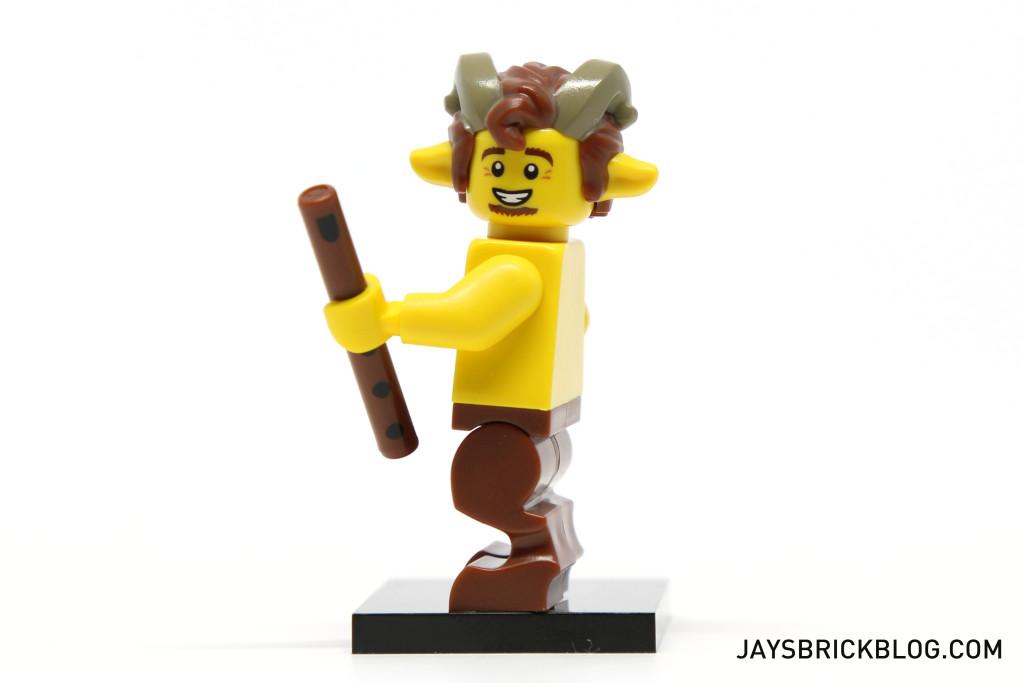 LEGO Minifigures Series 15 - Faun Satyr Legs Side View