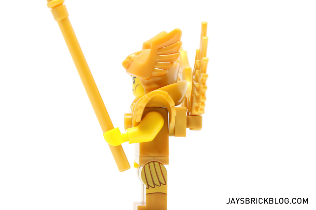 LEGO Minifigures Series 15 - Flying Warrior Side View