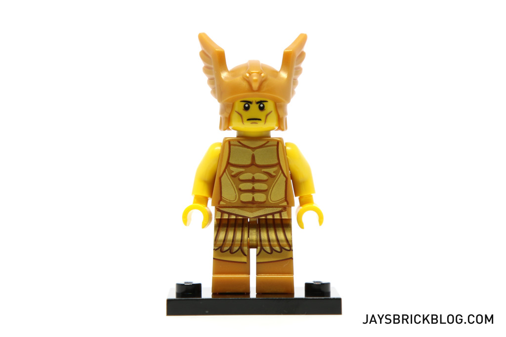 LEGO Minifigures Series 15 - Flying Warrior Torso Detail