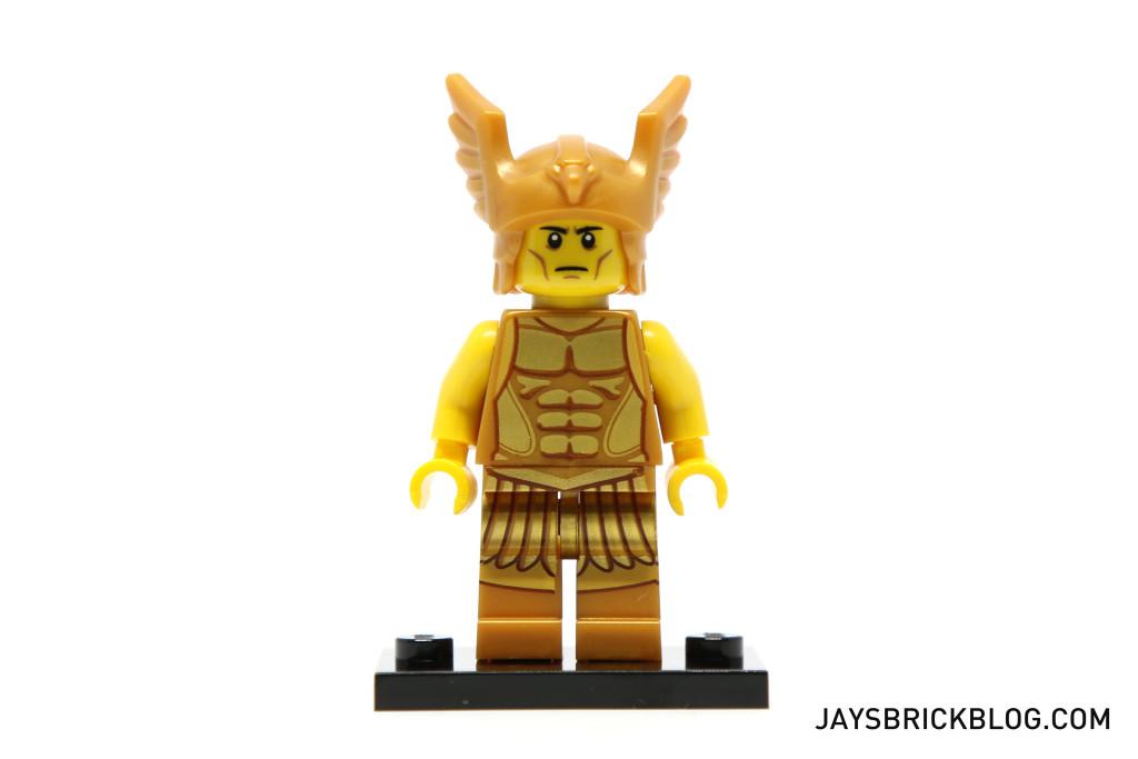 LEGO Minifigures Series 15 - Flying Warrior Torso Detail