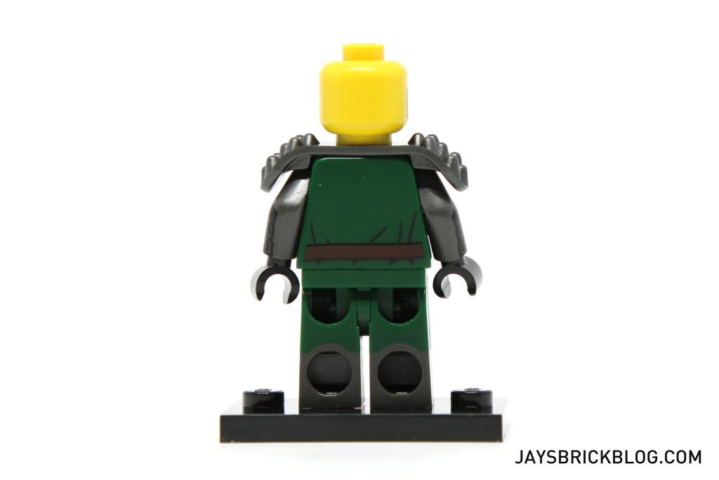 LEGO Minifigures Series 15 - Frightening Knight Back