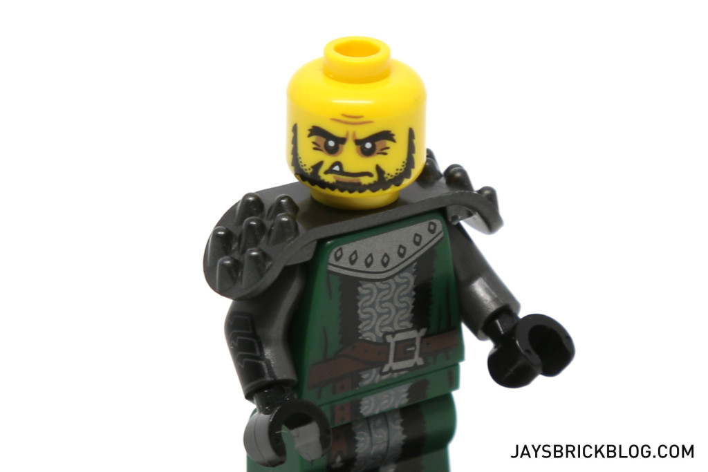 LEGO Minifigures Series 15 - Frightening Knight Face and Pauldrons