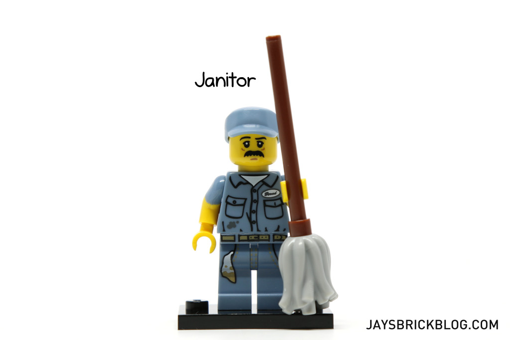 LEGO Minifigures Series 15 - Janitor Minifig