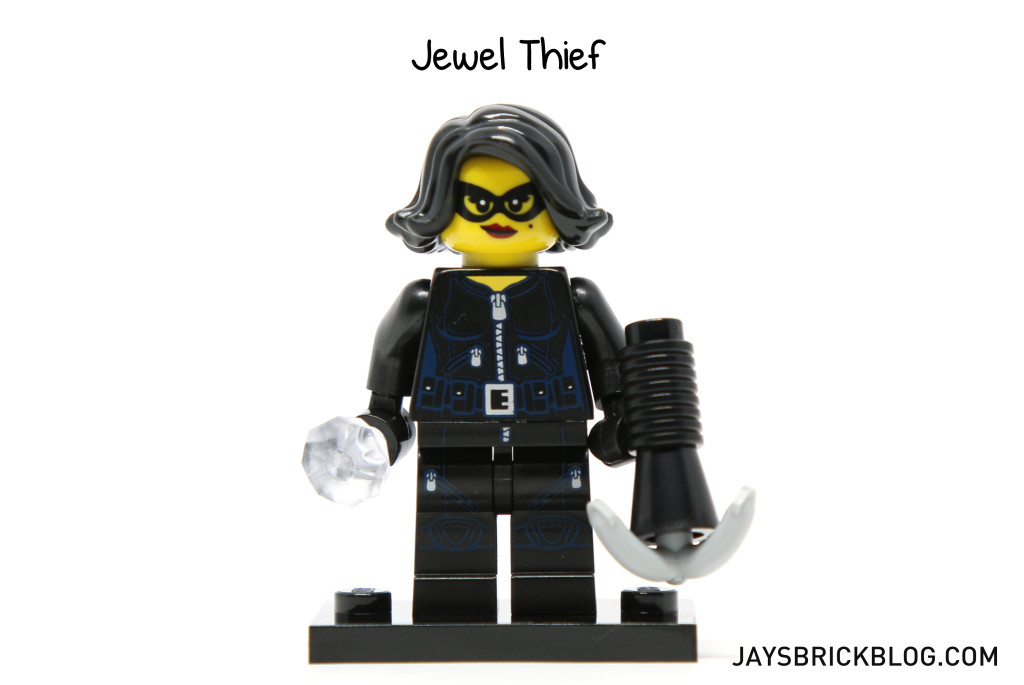 LEGO Minifigures Series 15 - Jewel Thief Minifig