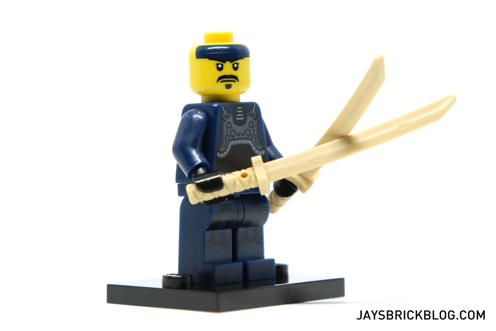 LEGO Minifigures Series 15 - Kendo Fighter Face