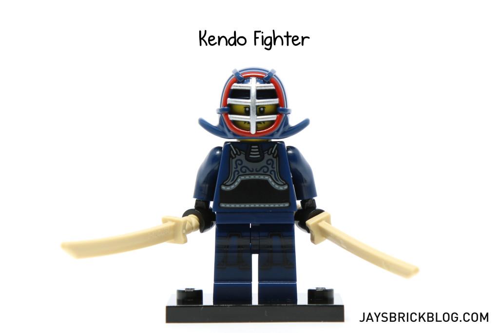 LEGO Series 15 Minifigure Kendo Guy