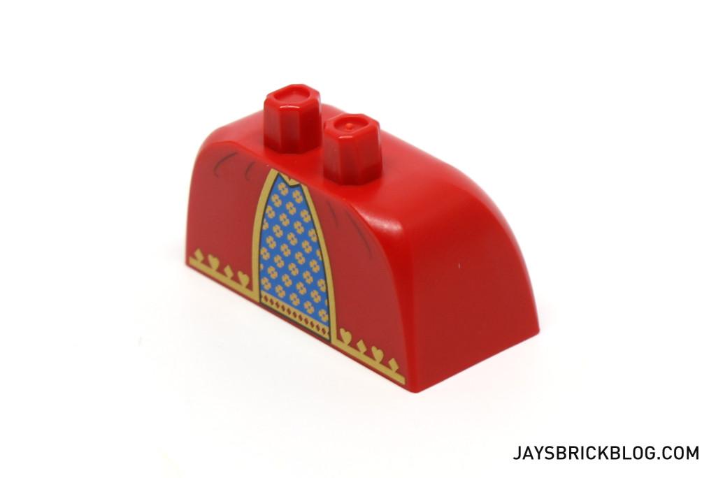 LEGO Minifigures Series 15 - Queen Minifig New Dress Piece