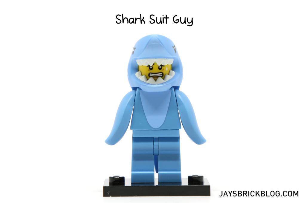 LEGO Minifigures Series 15 - Shark Suit Guy Minifig