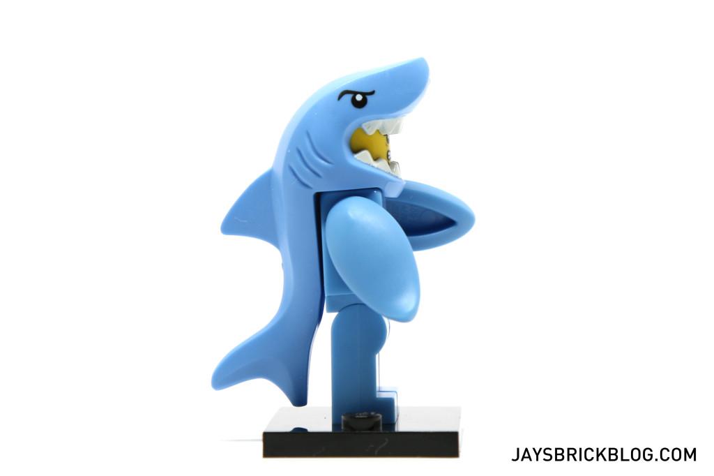 LEGO Minifigures Series 15 - Shark Suit Side View