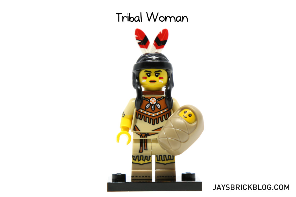 LEGO Minifigures Series 15 - Tribal Woman Minifig