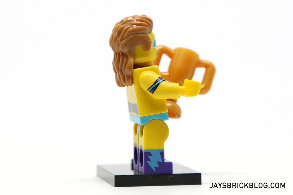 LEGO Minifigures Series 15 - Wrestling Champion Arm and Leg Print