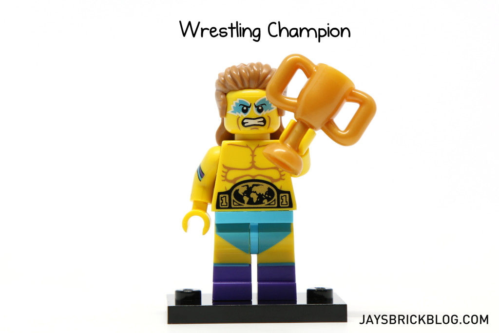 LEGO Minifigures Series 15 - Wrestling Champion Minifig