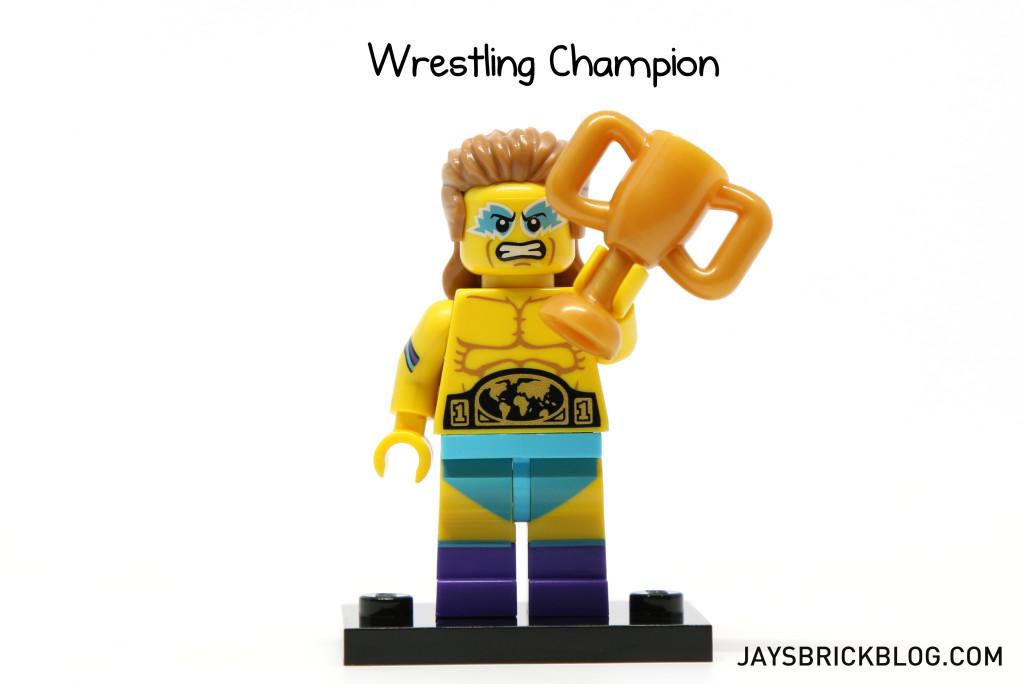 LEGO Minifigures Series 15 - Wrestling Champion Minifig