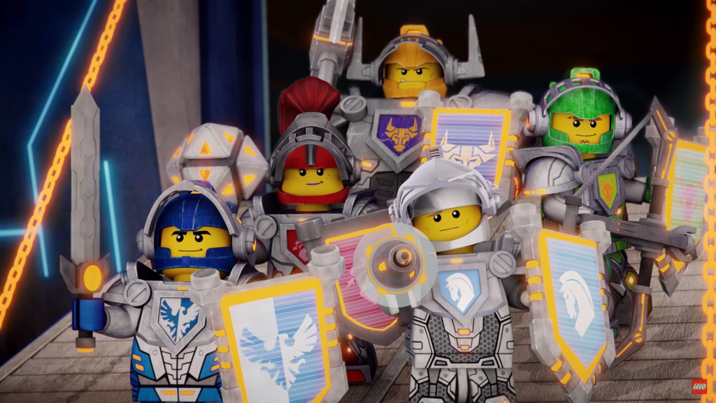 LEGO Nexo Knights Cartoon Characters