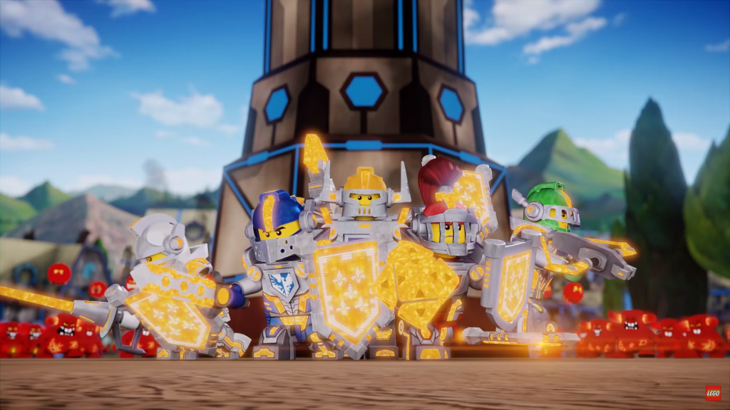 LEGO Nexo Knights Cartoon Powered Up