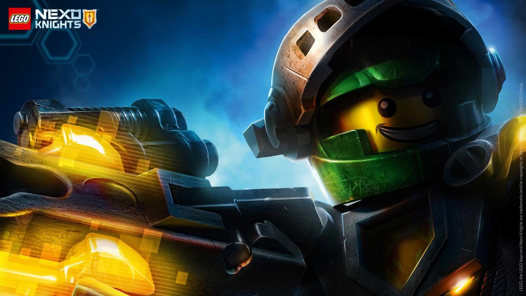 LEGO Nexo Knights Wallpaper Aaron